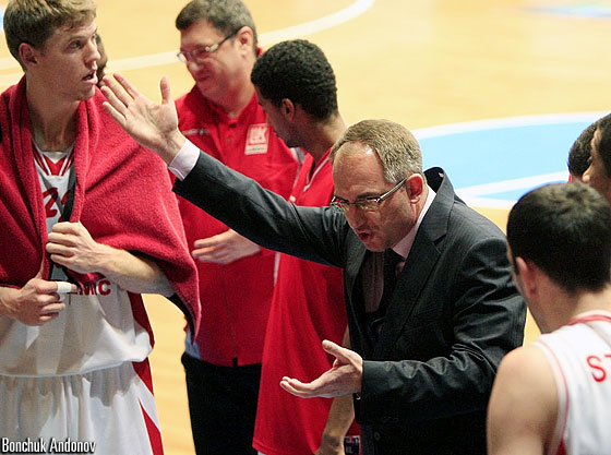 Lukoil Head Coach Jovic Arsic