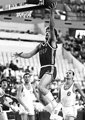 Sarunas Marcuilionis (USSR) at the 1987 European Championship in Greece