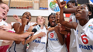France postgame interview