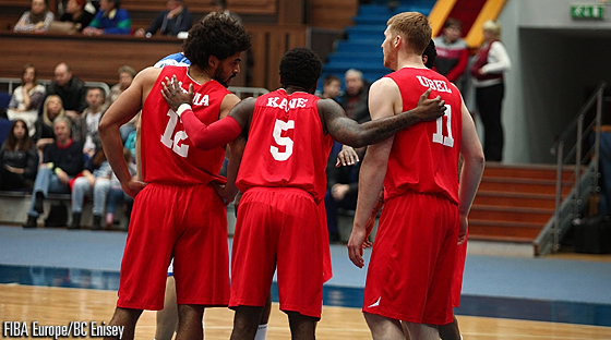 5. DeAndre Kane (Antwerp Giants), 11. Brandon Ubel (Antwerp Giants), 12. Jean-Marc Mwema (Antwerp Giants)