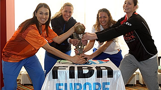 Euroleague Women Final Four 2011 - Promo, Cup, Trophy