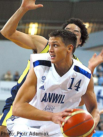 With 15 points Armands Skele was Anwil's only player reaching double-figures against EKA AEL
