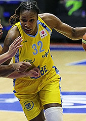 32. Rebekkah Brunson (ZVVZ USK Prague)