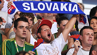 Slovakia supporters