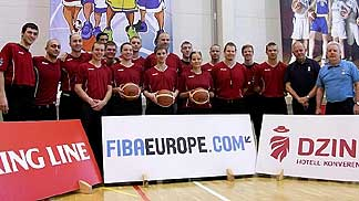 The participants at the 4th Referees Clinic in Tallinn, Estonia, January 2013