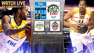 EWE Baskets vs. Gravelines Dunkerque - 3rd place game