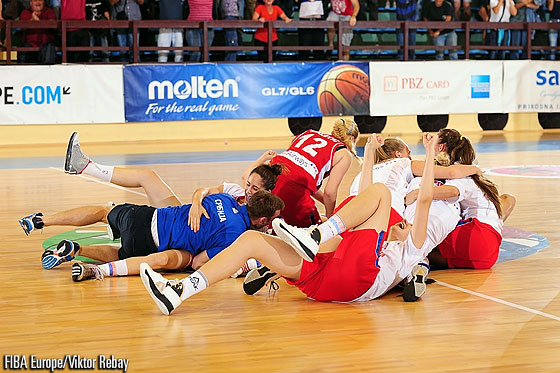 Serbia claim bronze at the U18 European Championship Women