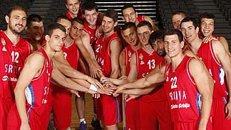 Team Serbia, EuroBasket 2013 training camp