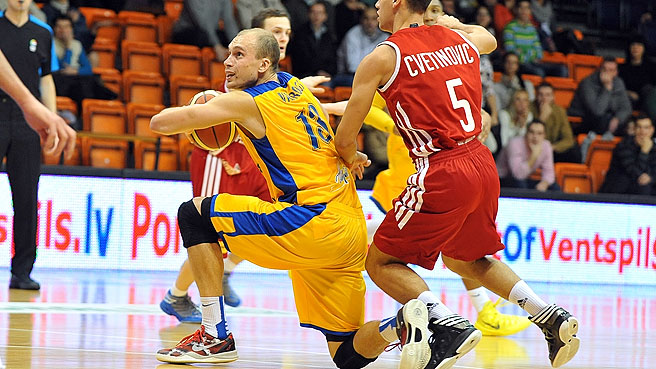 Ventspils Edge Vienna To Advance