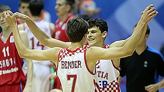 7. Dragan Bender (Croatia), 12. Ante Zizic (Croatia)