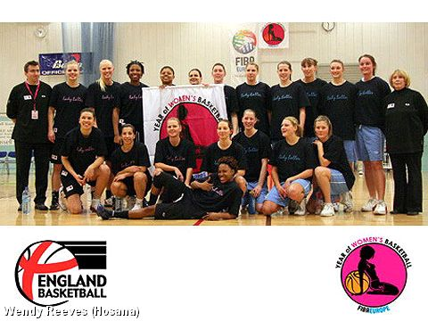 England Year of Women's Basketball Event