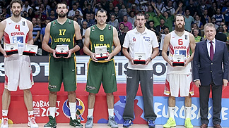 Gasol Headlines All-Star Five Presented By Tissot