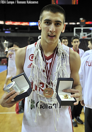 Turkey's Kenan Sipahi was named Tournament MVP