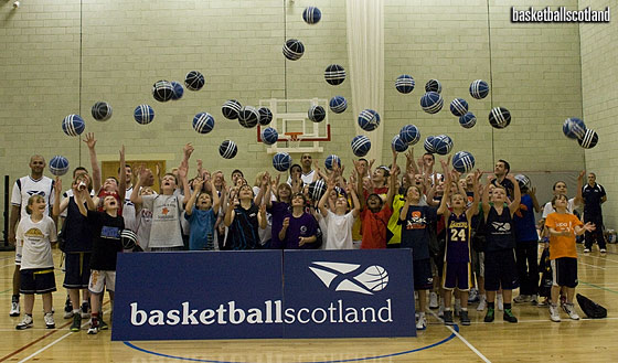 First Future Starz Camp, 2011 – Scotland's talent identification and development programme.