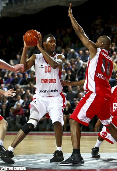 10. Brandon Gay (Antwerp Giants)