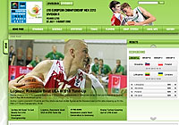 Omnitel U18 European Championship Men 2010 website