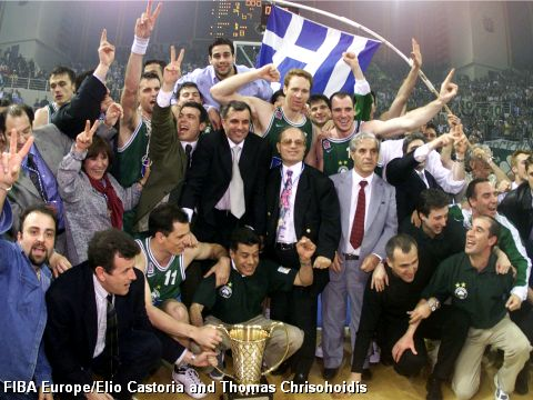 2000 EuroLeague Champions Panthinaikos