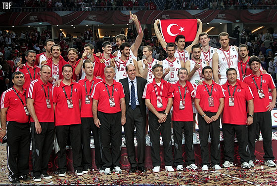Hosts Turkey clinch the silver medal at the 2010 World Championship