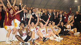 Winner of the EuroCup Women 2009: Galatasaray