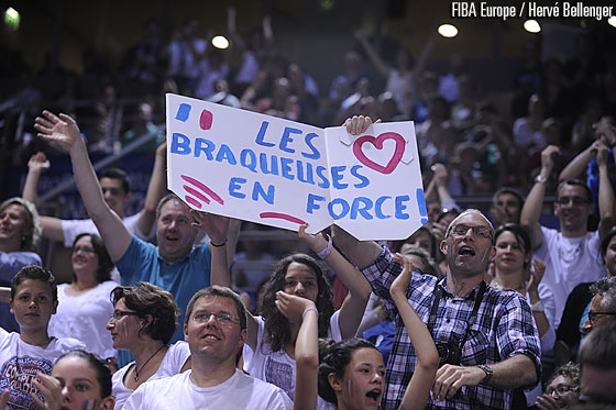 France fans in Vendespace