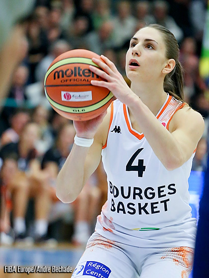 4. Romane Bernies (Bourges Basket)