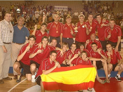 2005 U16 Bronze medallists Spain