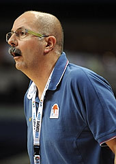 France Head Coach Philippe Ory