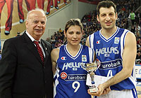 Mixed Couples Shoot-out Winners, Evi Maltsi and Theo Papaloukas
