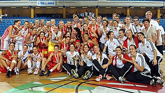 All medallists of the U20 European Championship Women 2012