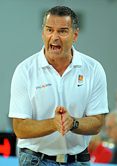 Germany Head Coach Dirk Bauermann