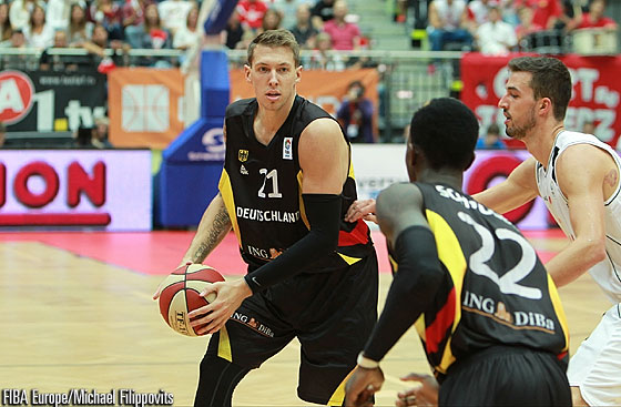 21. Daniel Theis (Germany)
