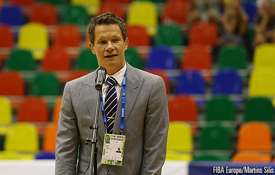 Latvian Basketball Federation General Secretary Edgars Sneps