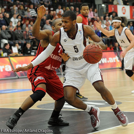 5. Anthony Hilliard (Artland Dragons)