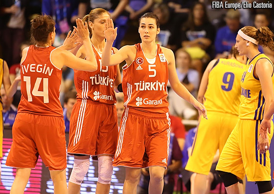 5. Tugce Canitez (Turkey), 14. Saziye Ivegin (Turkey), 15. Bahar Caglar (Turkey)