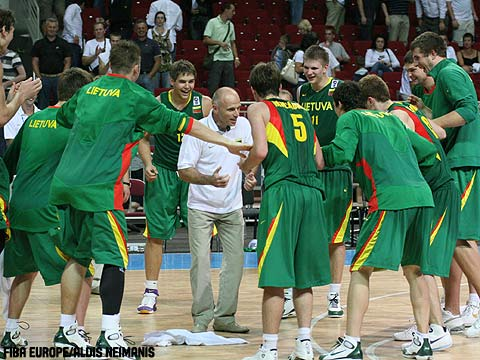 Lithuania is headed to the Championship game.