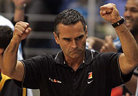 Coach Dirk Bauermann (Germany)