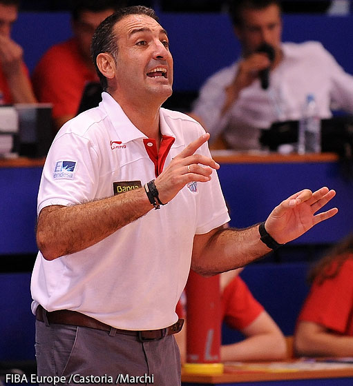 Spain Haed Coach Luis Guil