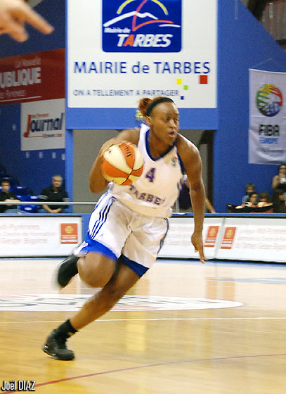 4. Charde Lakishia Houston (Tarbes GB)