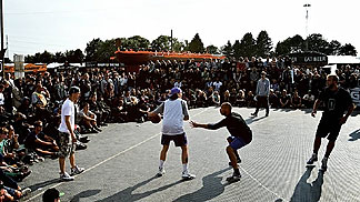 3x3 participants at Roskilde Festival in Denmark