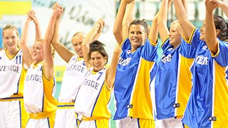 Sweden celebrate a win over Croatia