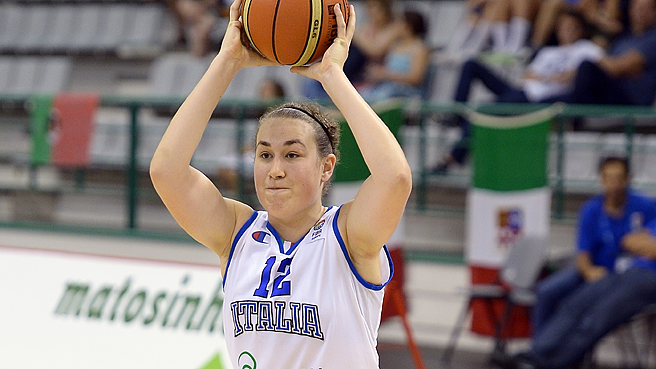 Cordola Carries Italy To Seventh
