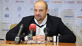 Zvezdan Mitrovic is presented as new head coach of Khimik Yuzhne