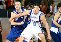 Milan Macvan (Serbia) and Konstantino Koufos (Greece)