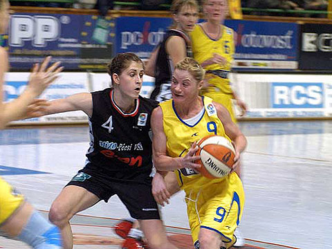 Slávka Frniaková (Delta ICP Kosice)  on the right