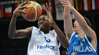 Stephane Gombauld (France) at the U16 European Championship 2012