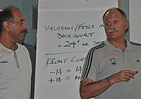 Alan Richardson at Saudi Arabia Referees Federation
