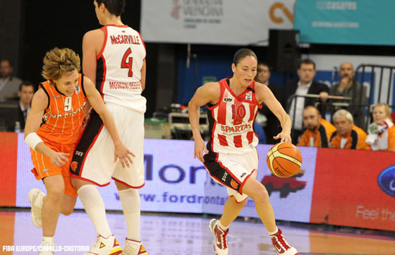 10. Sue Bird (Spartak Moscow Region)