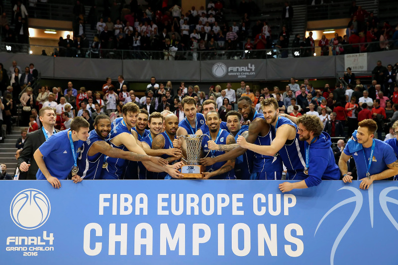 2016 FIBA Europe Cup champions Fraport Skyliners
