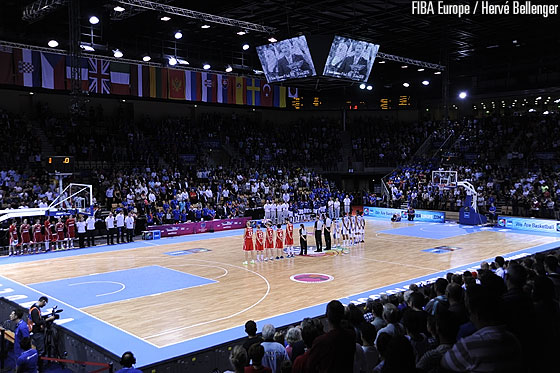 Vendespace stood still for a minute of silence for FIBA Europe President Olafur Rafnsson who had untimely passed away on Wednesday 19 July