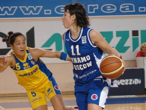 Monica Bello (Lavezzini) and Nuria Martinez (Dynamo)